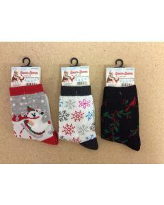 Christmas Kid's Socks ~ Sizes 7 - 9