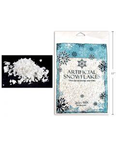 Christmas Artificial Snowflakes ~ 2oz bag