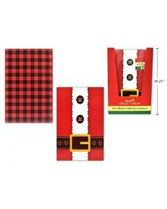 "Christmas Jumbo Folding Gift Box - 20"" x 14"" x 4"" ~ 1/pk"