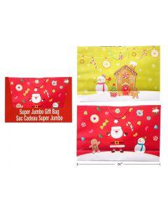 Christmas Super Jumbo Gift Bag ~ Horizontal