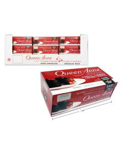 Christmas Queen Anne Dark Chocolate Cordial Cherries ~ 10 per pack