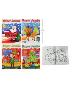 Christmas Super Jumbo Coloring Book ~ 144 pages