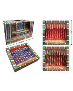 Christmas Flavored Candy Canes ~ 12 per pack