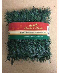Christmas Pine Garland ~ 12'