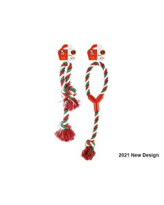 Christmas Dog Toy Rope