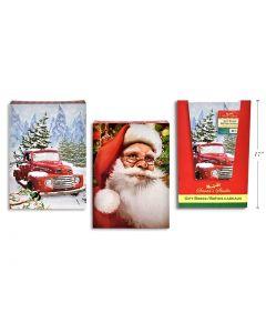 "Christmas Large Folding Gift Box - 17"" x 11"" x 2-1/2"" ~ 2/pk"