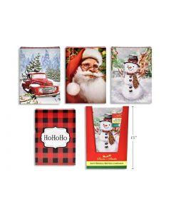 """Christmas Medium Folding Gift Box - 14-7/8"""" x 9-1/2"""" x 2"""" ~ 3/pk"""