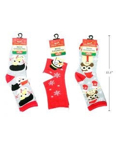 Christmas Adult Printed Crew Socks