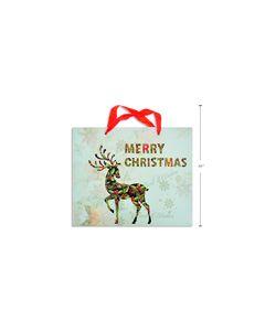 Christmas Glitter Horizonal Large Gift Bag