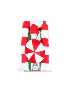 Christmas Deluxe Candy Cane Car Decoration Set