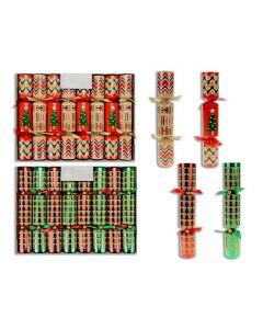 "Christmas Crackers - 10"" ~ 6 per pack"