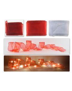 Christmas 20-LED Warm White Ribbon Stringlight ~ 2M